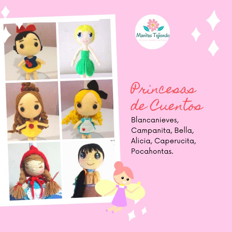 Amigurumis-Princesas-Disney-1