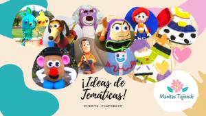 Toy Story: muñecos tejidos, disfraces, accesorios