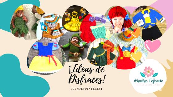 Disfraces tejidos para niños y niñas